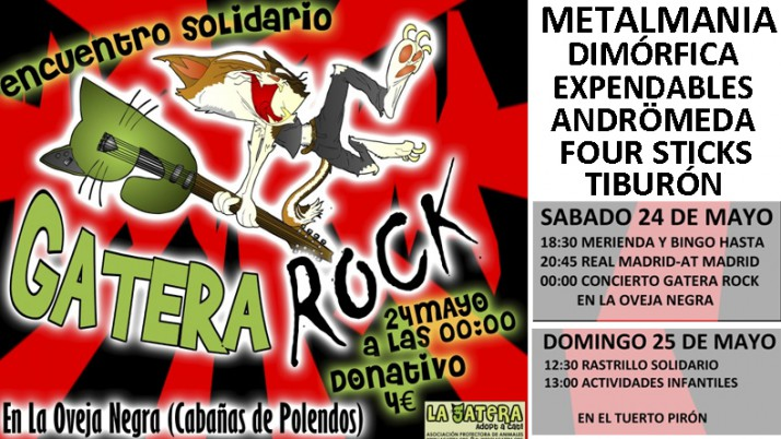 Llega el primer Gatera-Rock